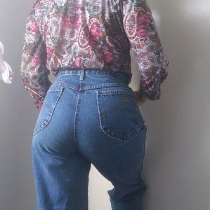 Vintage Chic mom jeans